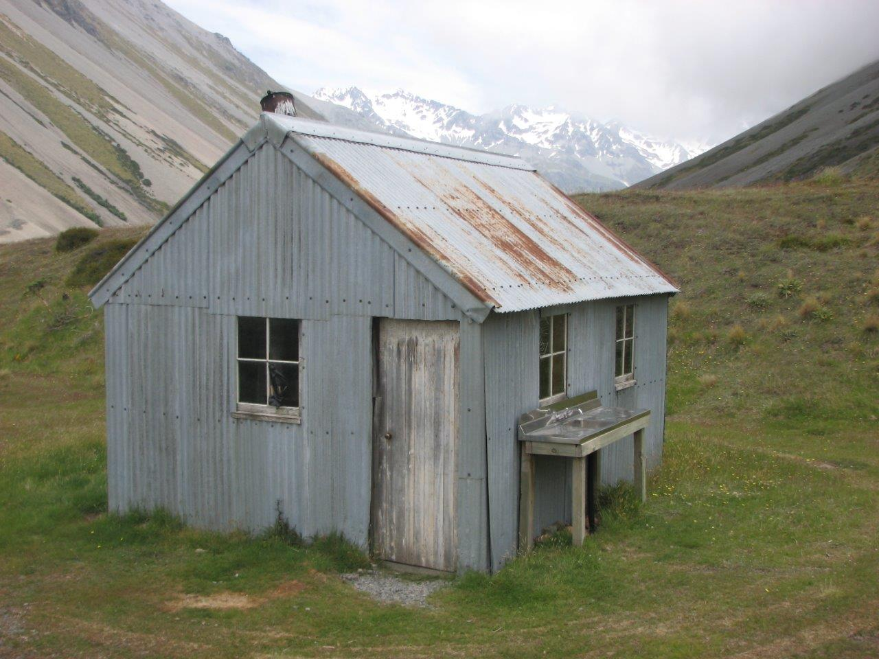 backcountry huts arrowsmith station. Black Bedroom Furniture Sets. Home Design Ideas